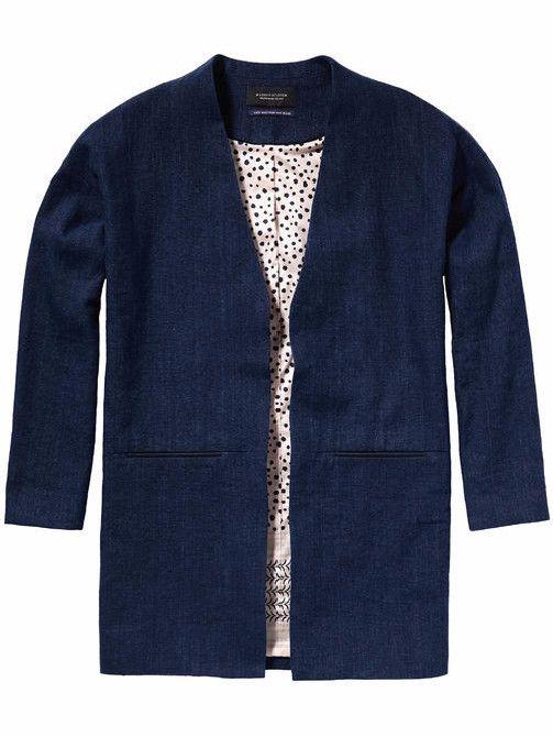 Maison Scotch Summer Linen Box Blazer - plum.boutique - 1   Outfits ... 3f590523c2c8
