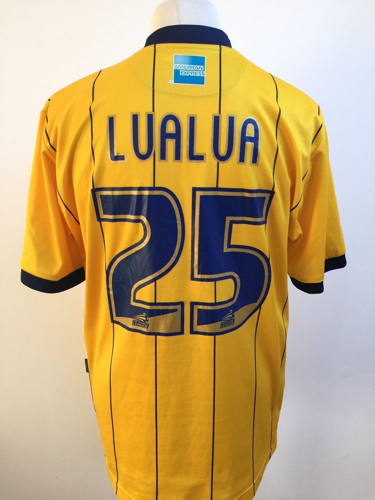 b76550ec990 BRIGHTON   HOVE ALBION Football Shirt AWAY 2013 2014 Size XL  25 LUALUA