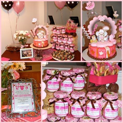 Baby Shower Cowgirl Themes For Girls | Cowgirl/Country Style Birthday  Parties And Baby Showers