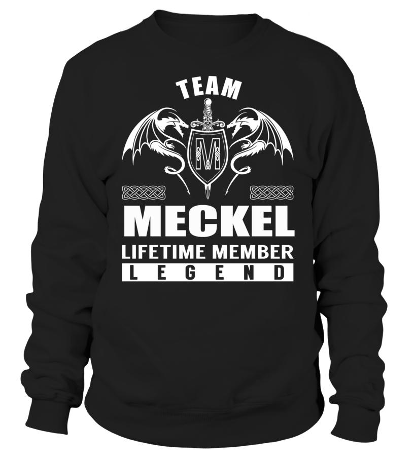 Team MECKEL Lifetime Member Legend #Meckel