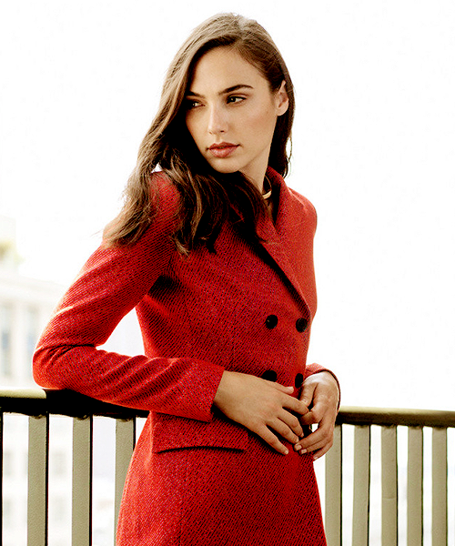 Gal Gadot by Clarke Tolton for Marie Claire