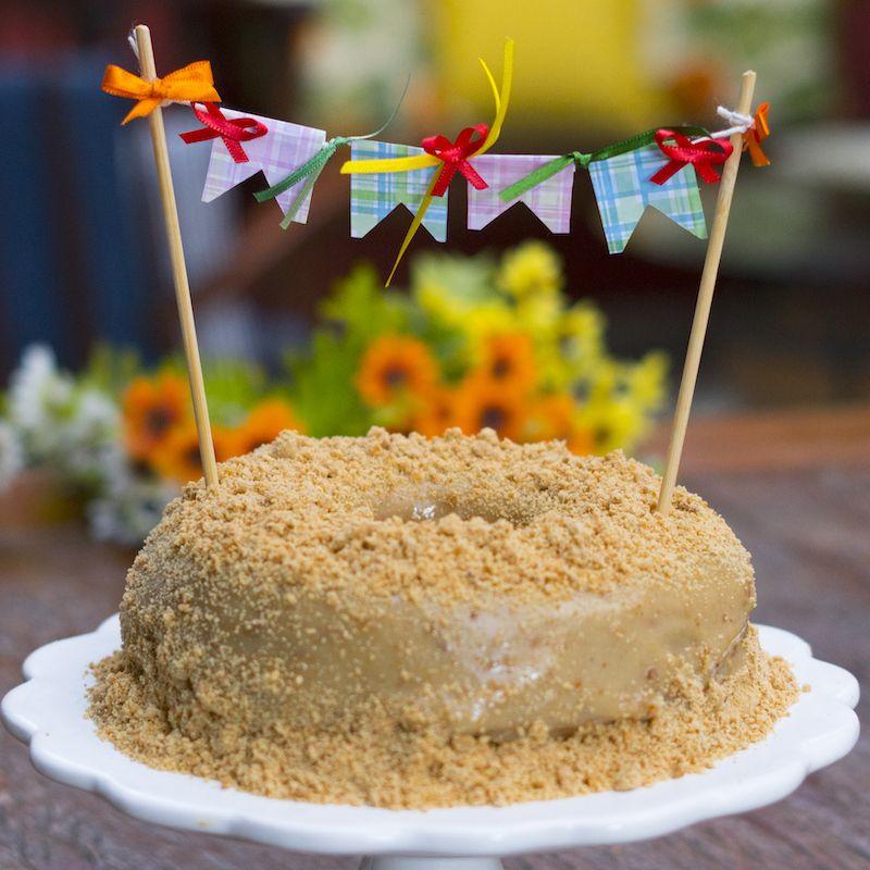 bolo de pacoca cremosa e a sua mais nova receita preferida bolo pacoca bolo de pacoquinha bolo bolo de pacoca cremosa e a sua mais