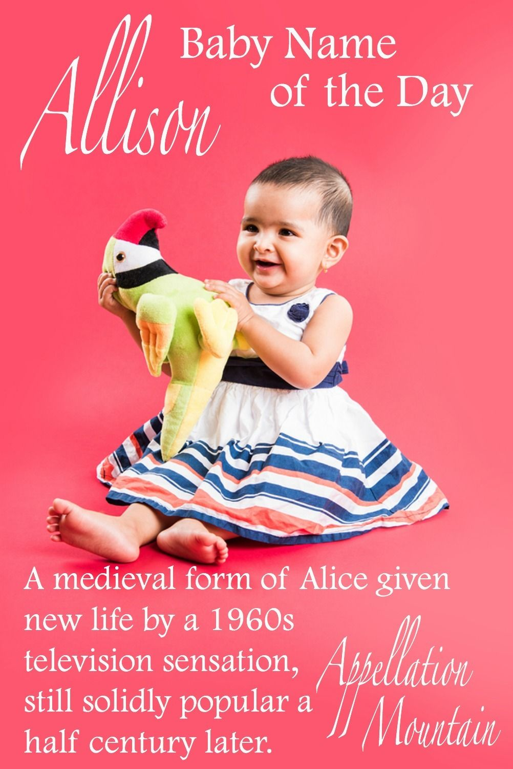 Allison reigns as the queen of tailored ends with son names for girls once a nickname for alice today it stands on its own if you love surname choices
