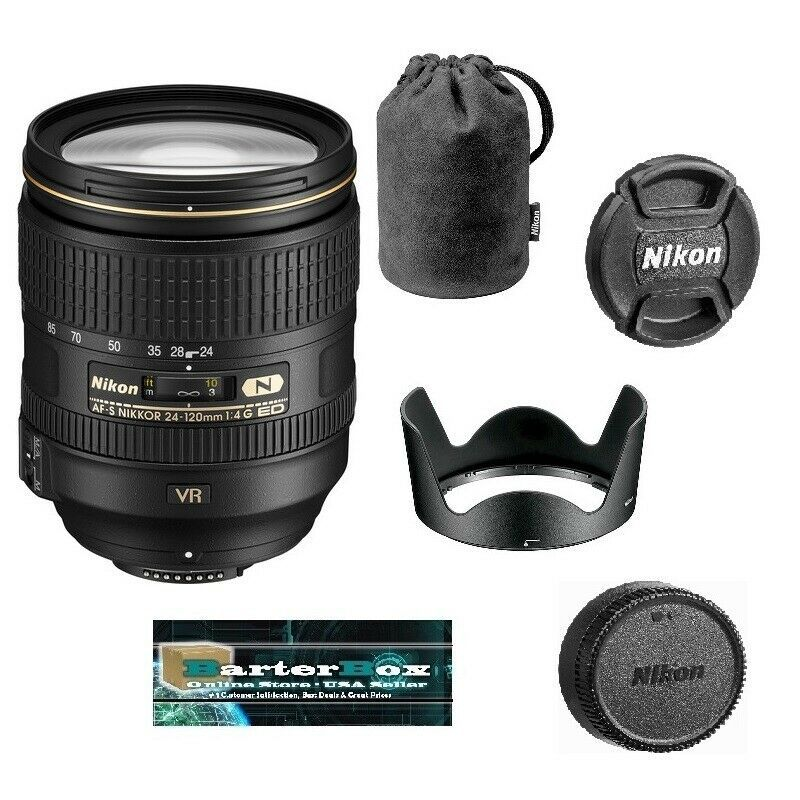 Sale Nikon Nikkor 24 120mm F 4 0 G Swm Af S Vr If N M A Ed W Lens Hood Pouch Lens Hood Slr Lens Nikon
