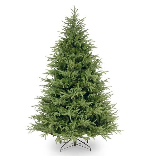 National Tree Company 7 5 Ft Frasier Fir Artificial Christmas Tree Lowes Com Artificial Tree Artificial Christmas Tree Green Christmas Tree
