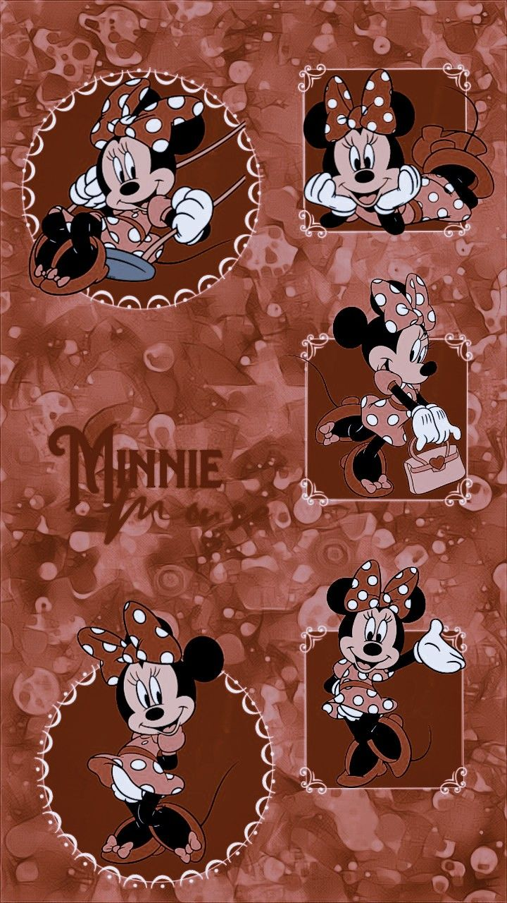 Edits Wallpaper Png Minnie Mouse