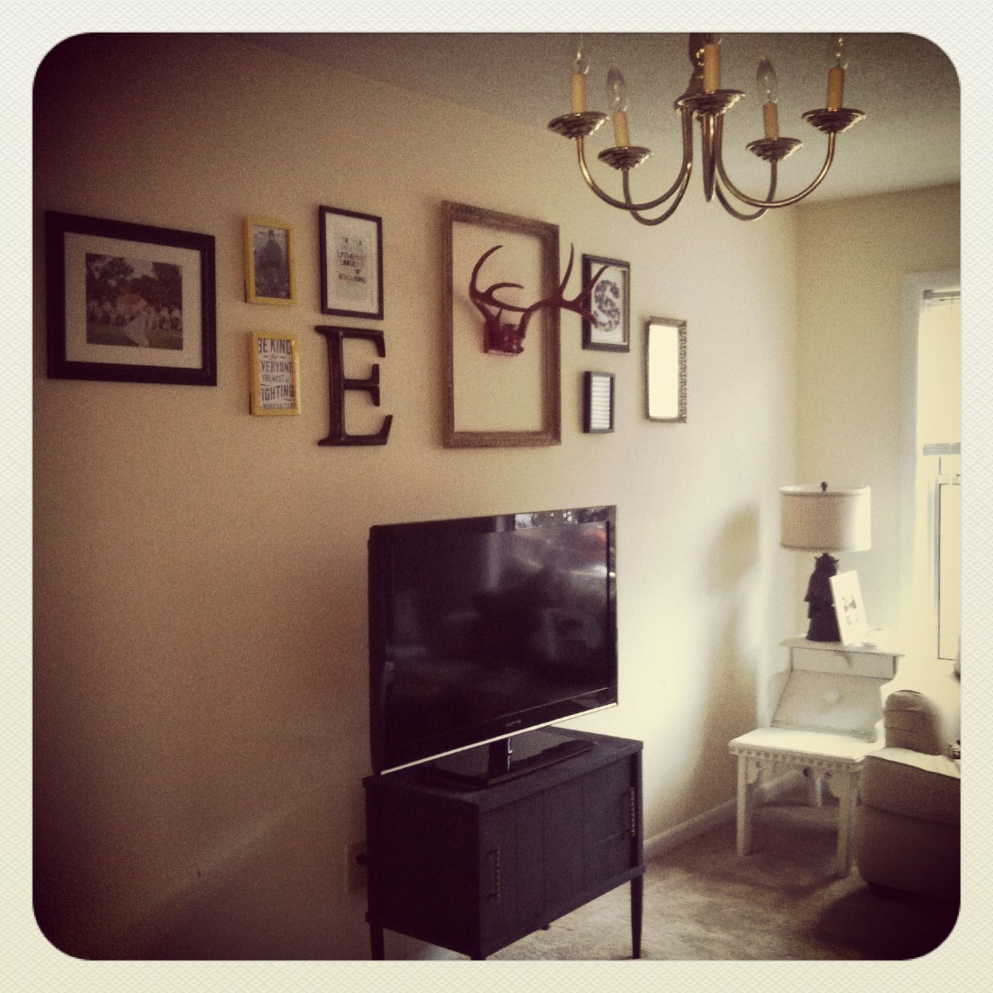 Frame Collage Wall Art Antlers