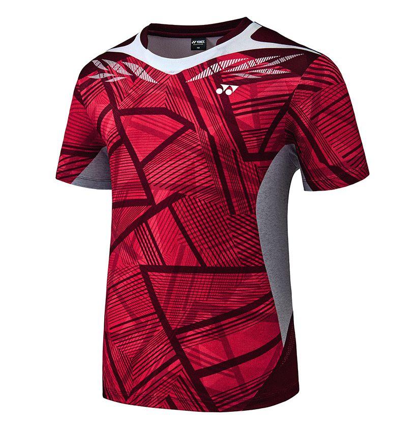 Main Features Brand Yonex Gender Men Material Polyester 100 Mpn 73ts025m C Sport Shirt Design Sports Uniform Design Badminton T Shirts