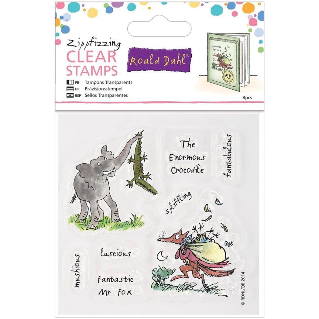 Roald Dahl The Enormous Crocodile Fabtastic Mr Fox Stamps
