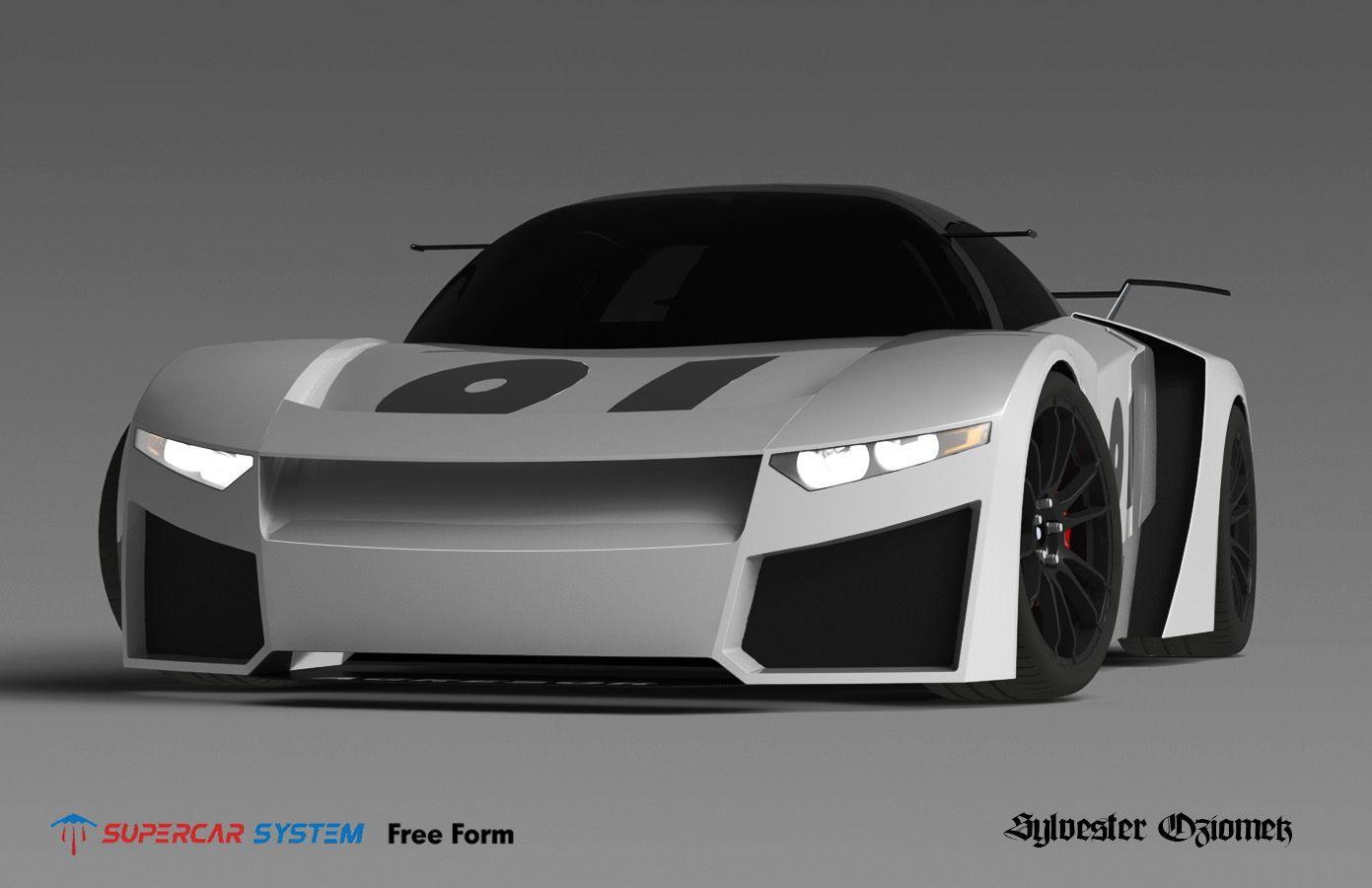 Agresor Supercar Supercar System Body Design Challenge Super Cars Design Challenges Sports Car