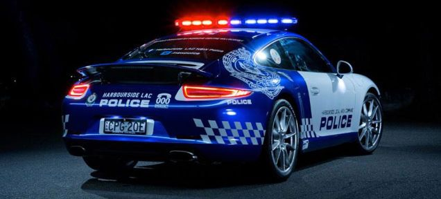 Australia's Beautiful Porsche 911 Cop Car Is A Speeder's Worst Nightmare