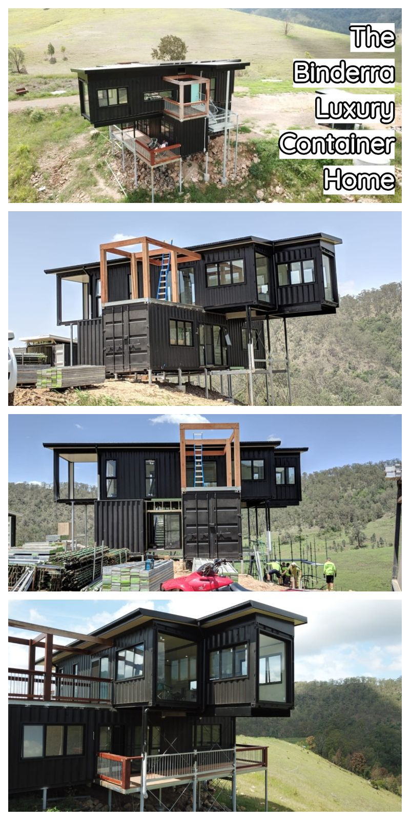 The Binderra Luxury Container Home In 2020 Container House Container House Plans Container House Design