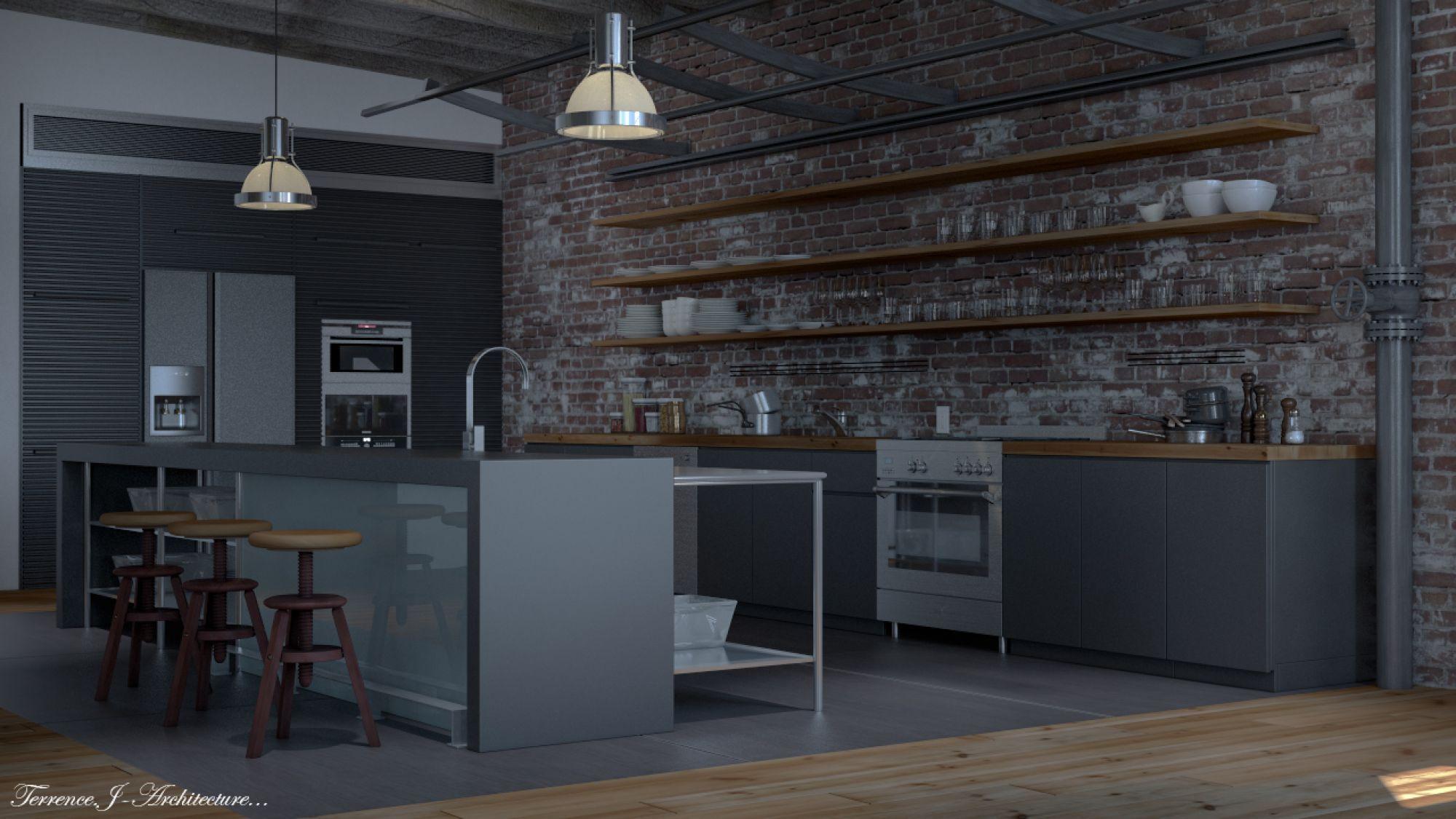 Loft Kitchens Google Search Kitchens Pinterest Loft Kitchen Lofts And Kitchens