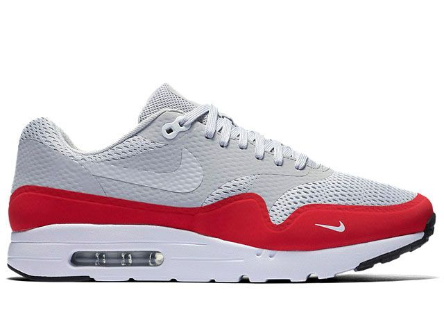 Nike Air Max 1 Ultra Essential Neutral Grey University Red