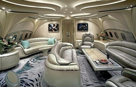 Letting you have a peek at the livingroom area on my jet.  Your welcome.