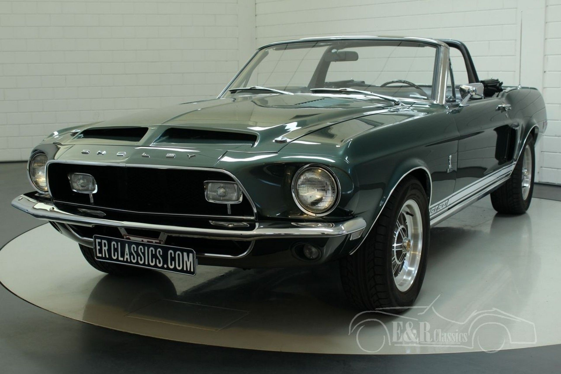 Ford Shelby Gt500 1968 Cabriolet For Sale At Erclassics Mustang Shelby Ford Shelby Ford Mustang Cobra