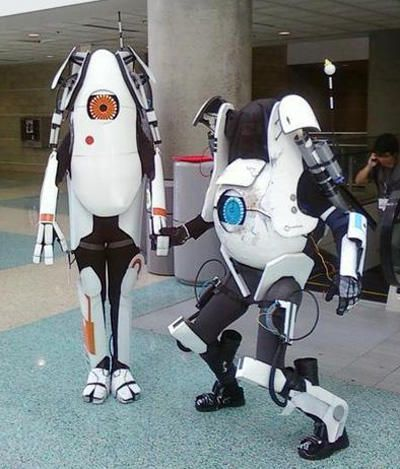 Awesome Robot Costume Portal Atlas Halloween Pinterest Cosplay