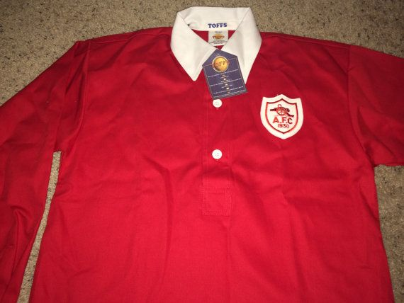 Sale Vintage Arsenal Fc Soccer Jersey 1930 FA Cup by casualisme Retro  Football Shirts 74b96581d