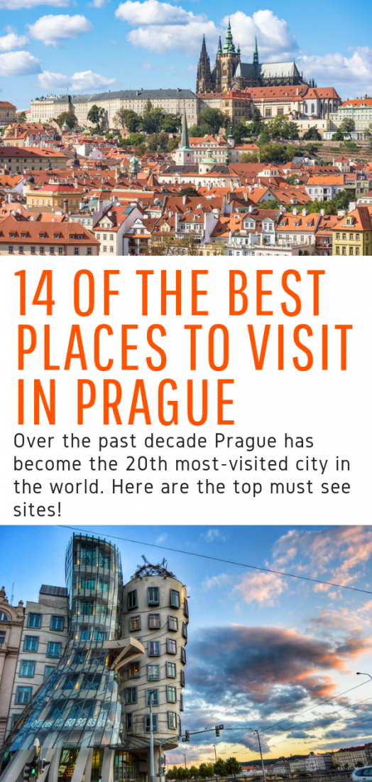 14 of the Best Places to Visit in Prague - Headed to the Czech Republic and looking for things to do in Prague? This guide gives you all the top places to visit in Prague! #prague #europe #czechrepublic #travel