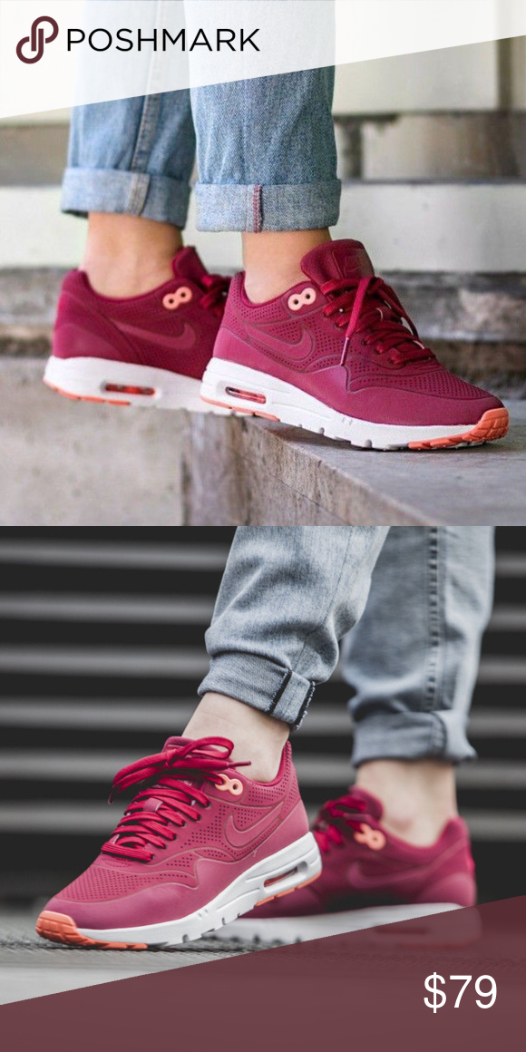 Women's Nike Air Max 1 Ultra Moire Noble red 8.5 noble red