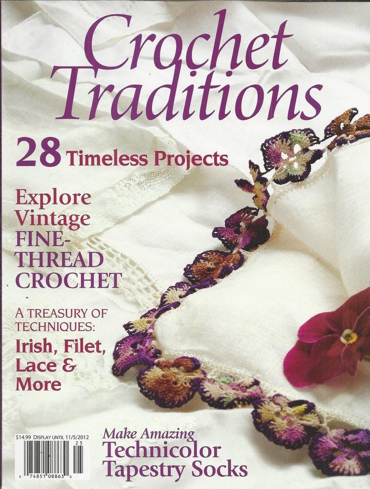 Crochet Traditions magazine Projects Vintage fine thread count Irish ...