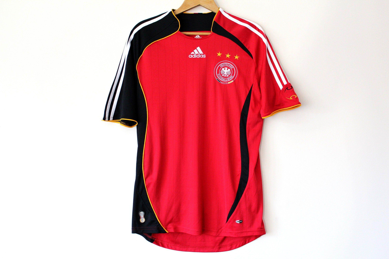 Vintage Football Germany Shirt Red Black Adidas Jersey Etsy Germany Shirt Soccer Shirts Black Adidas [ 2000 x 3000 Pixel ]