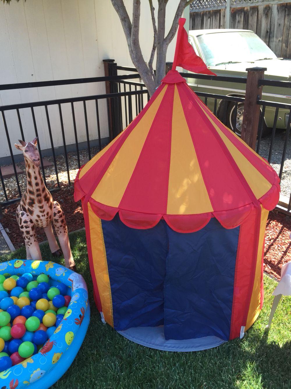 Circus party toddler play are - IKEA circus tent & Circus party toddler play are - IKEA circus tent | Dumbo Circus ...
