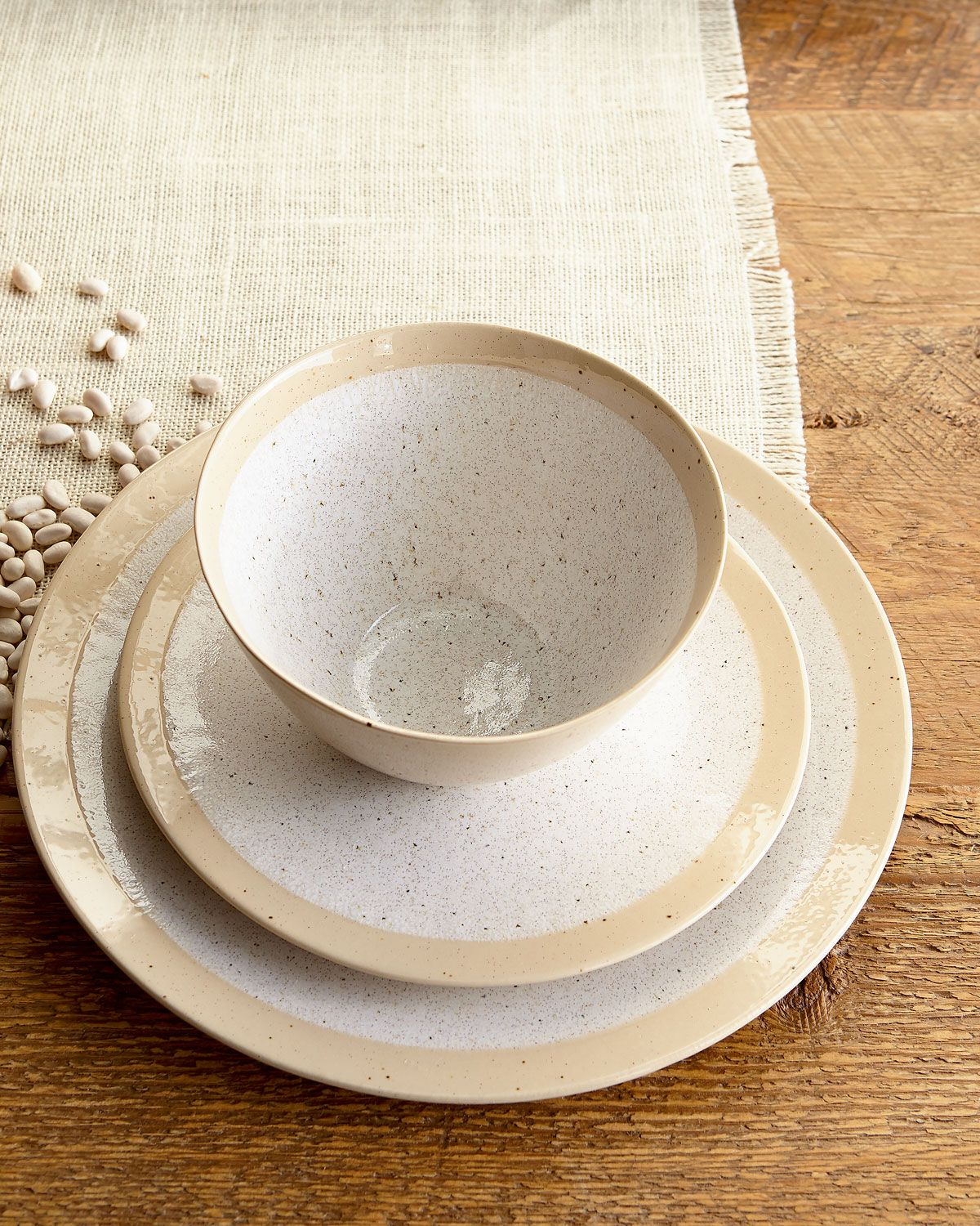 Shop \ Speckled\  Dinnerware Service at Horchow where you\u0027ll find new lower shipping on hundreds of home furnishings and gifts. & 12-Piece \