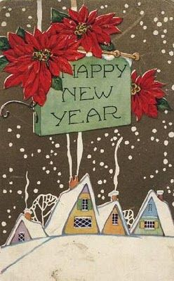 send new years cards since its hard to get cards out before christmas use up old cards and somehow add happy new year on there perhaps use a cut out and