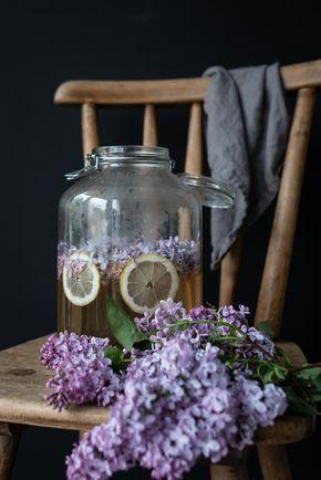 Rezept für Fliedersirup: köstlich süß und blumig - trickytine