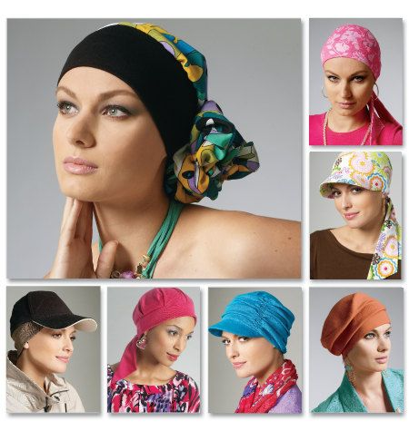 Six Hats A Headband And Scrunchie Mccalls 6521 A New Sewing