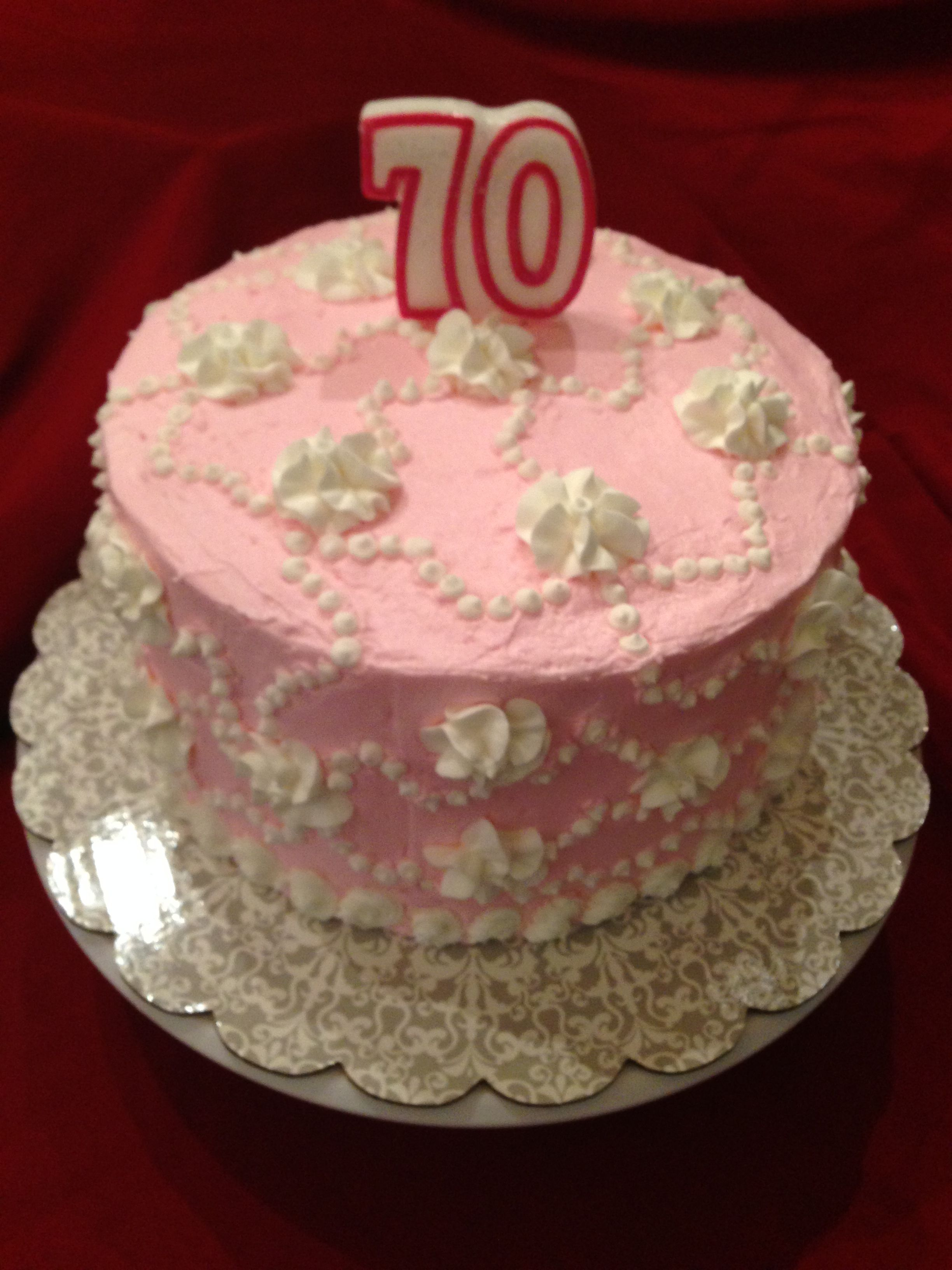 Birthday Cake For My Cousin Beverly Cakes I Made Pinterest