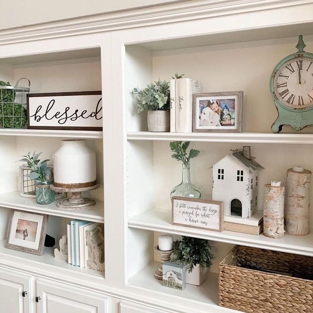 35 The Best Bookshelf Decor Ideas For Your Living Room In