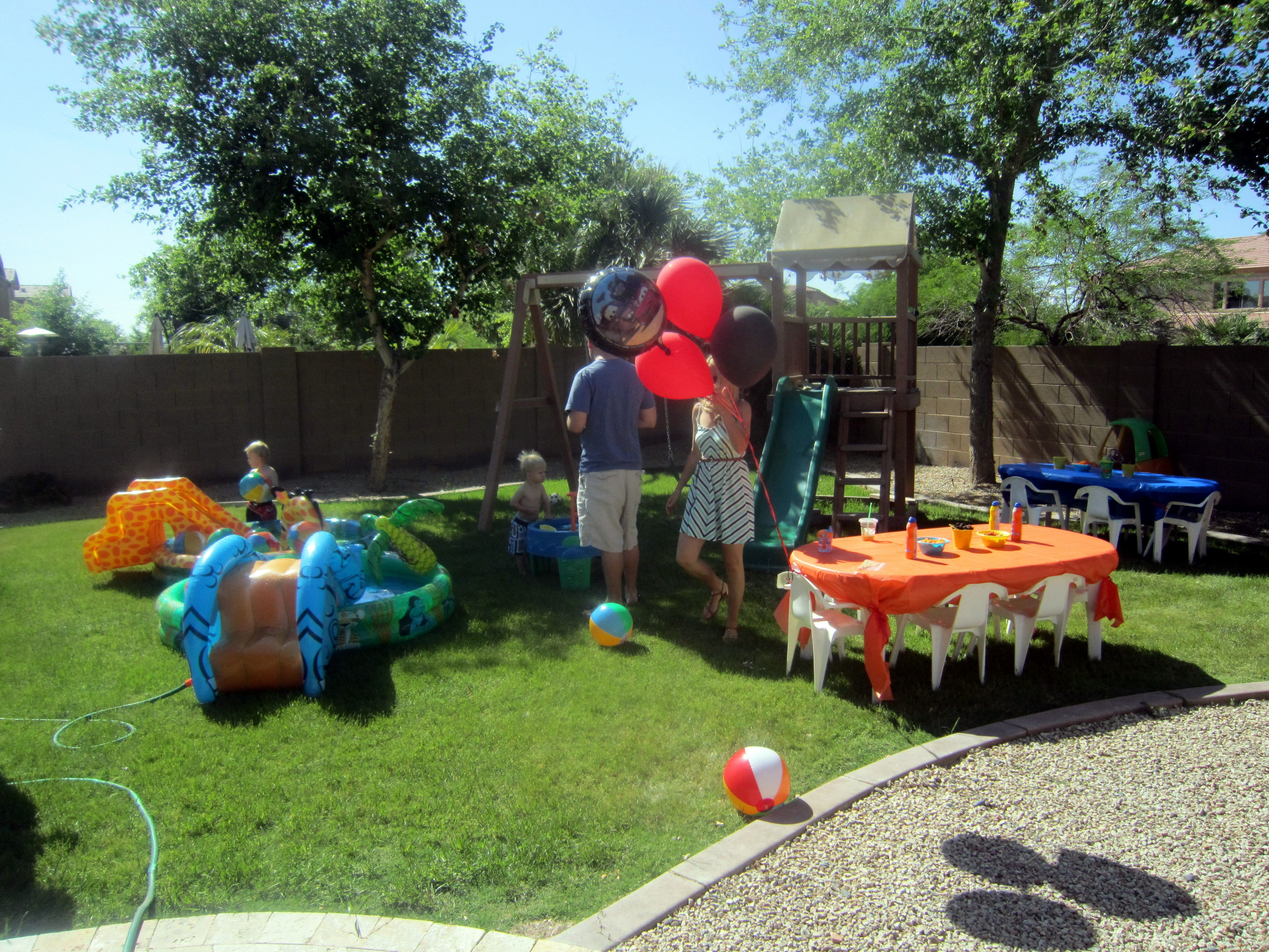 Kiddie Pools With Mini Beach Balls And Water Tables Entertainment For 2 Year Old Ball Bash