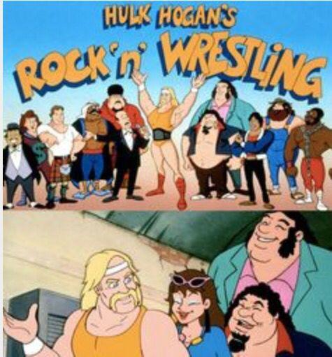 Hulk Hogan Rock n/' Wrestling Pin
