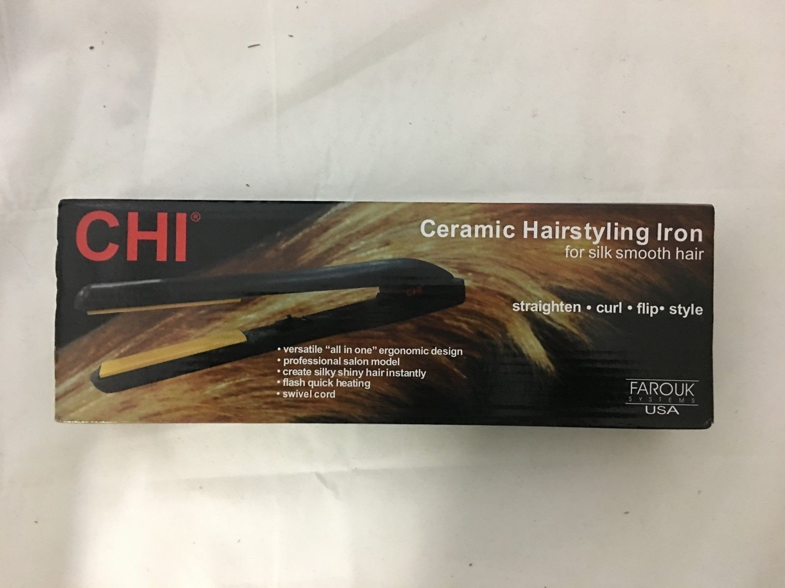 Straightening and Curling Irons New Chi Pro  Ceramic Flat Iron