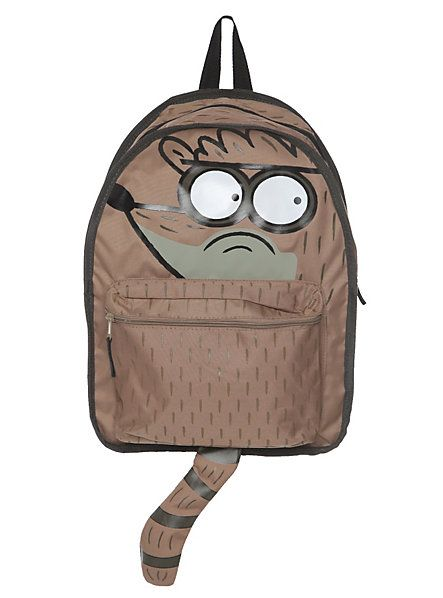 1657bb6745b2 Regular Show Mordecai And Rigby Reversible Backpack