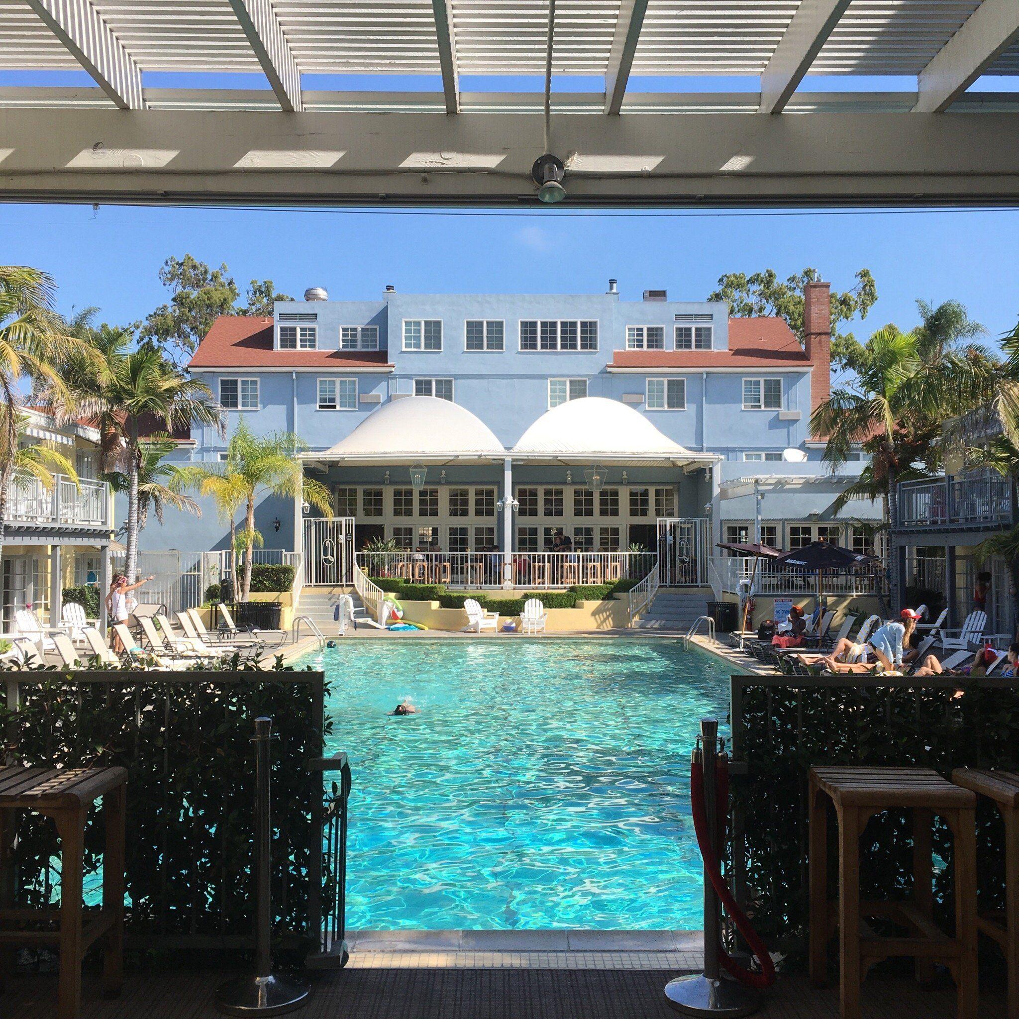 The Lafayette Hotel Swim Club Bungalows San Go Ca