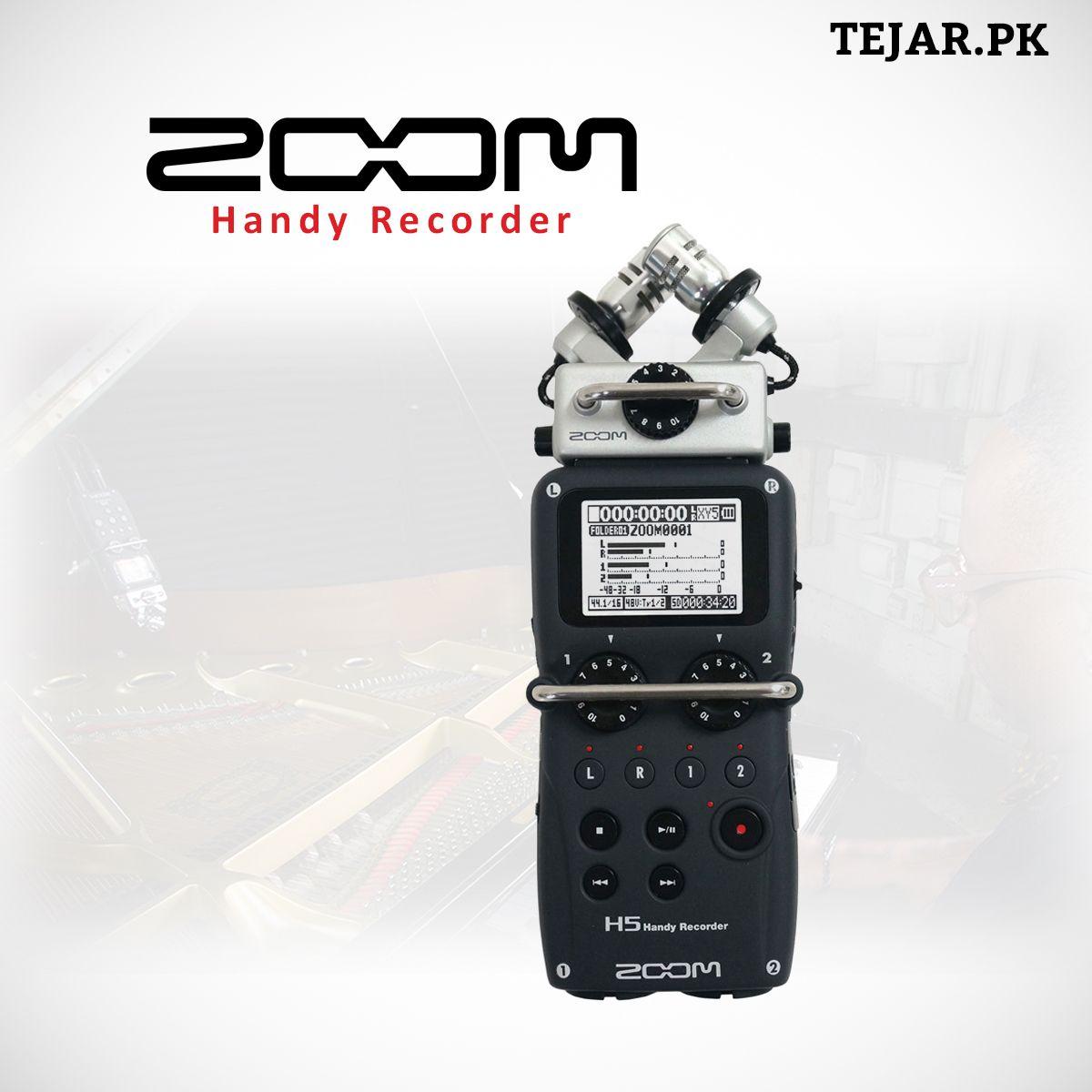 Zoom H5 Handy Recorder Multitrack recording, Microphone