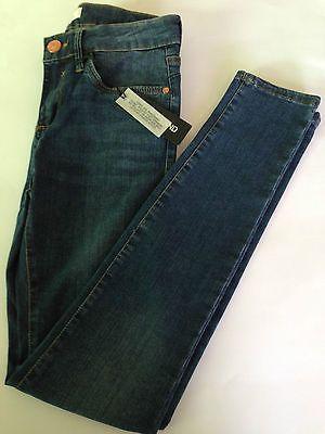 ex- River Island Women's Blue Mid Wash Amelie Super Skinny Jeans https://t.co/SZcrUUCJMn https://t.co/yDFFf2GFXo