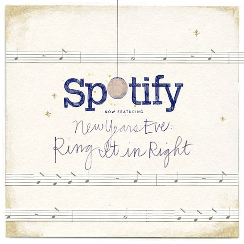 "New Year's Eve ""Ring It in Right"" playlist via the Anthro blog"