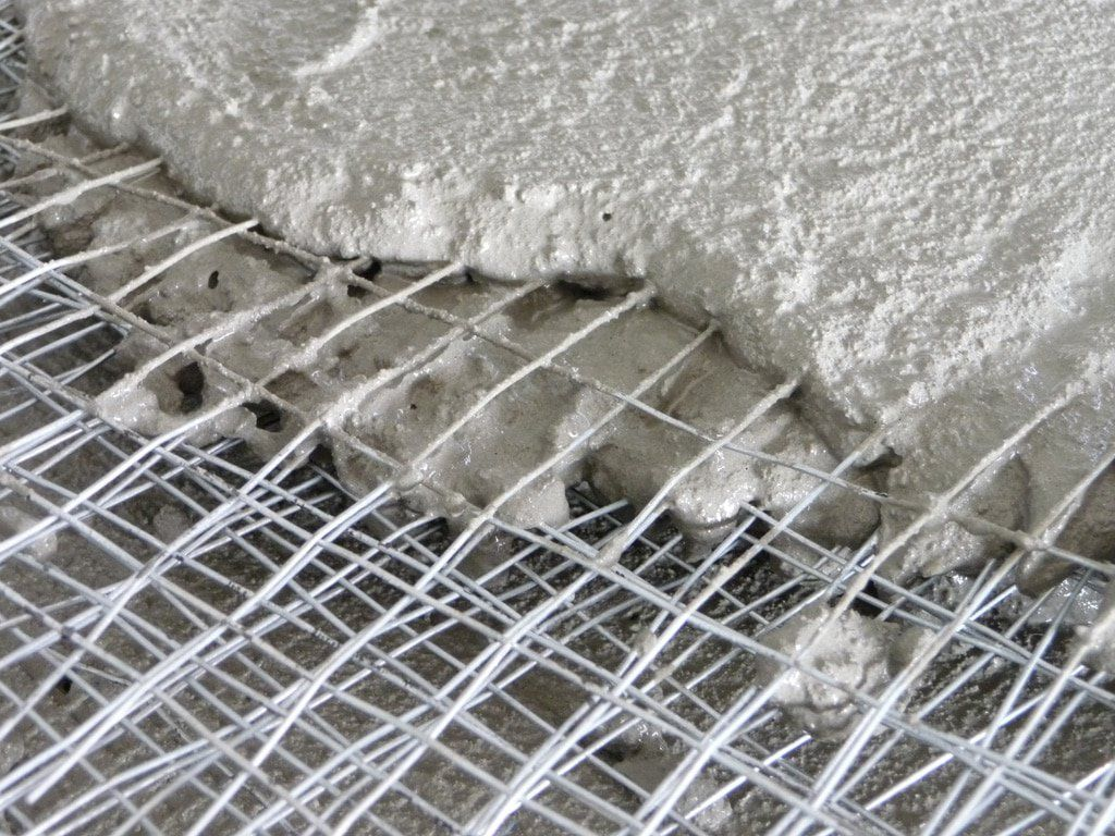 Ferrocement is a construction material consists of wire meshes and ...