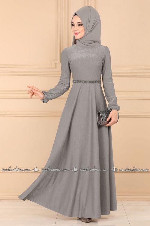 Modaselvim 2019 Tesettur Elbise Modelleri Elbise Modelleri Elbise Moda Stilleri