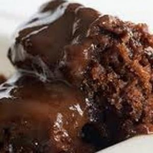 Chocolate cobbler--- I have made this recipe for YEARS!!! Follow the recipe-and serve with GOOD vanilla ice cream (I like Blue Belle)-- it never disappoints!  No matter where I take it or who I serve it to, I am asked for the recipe.