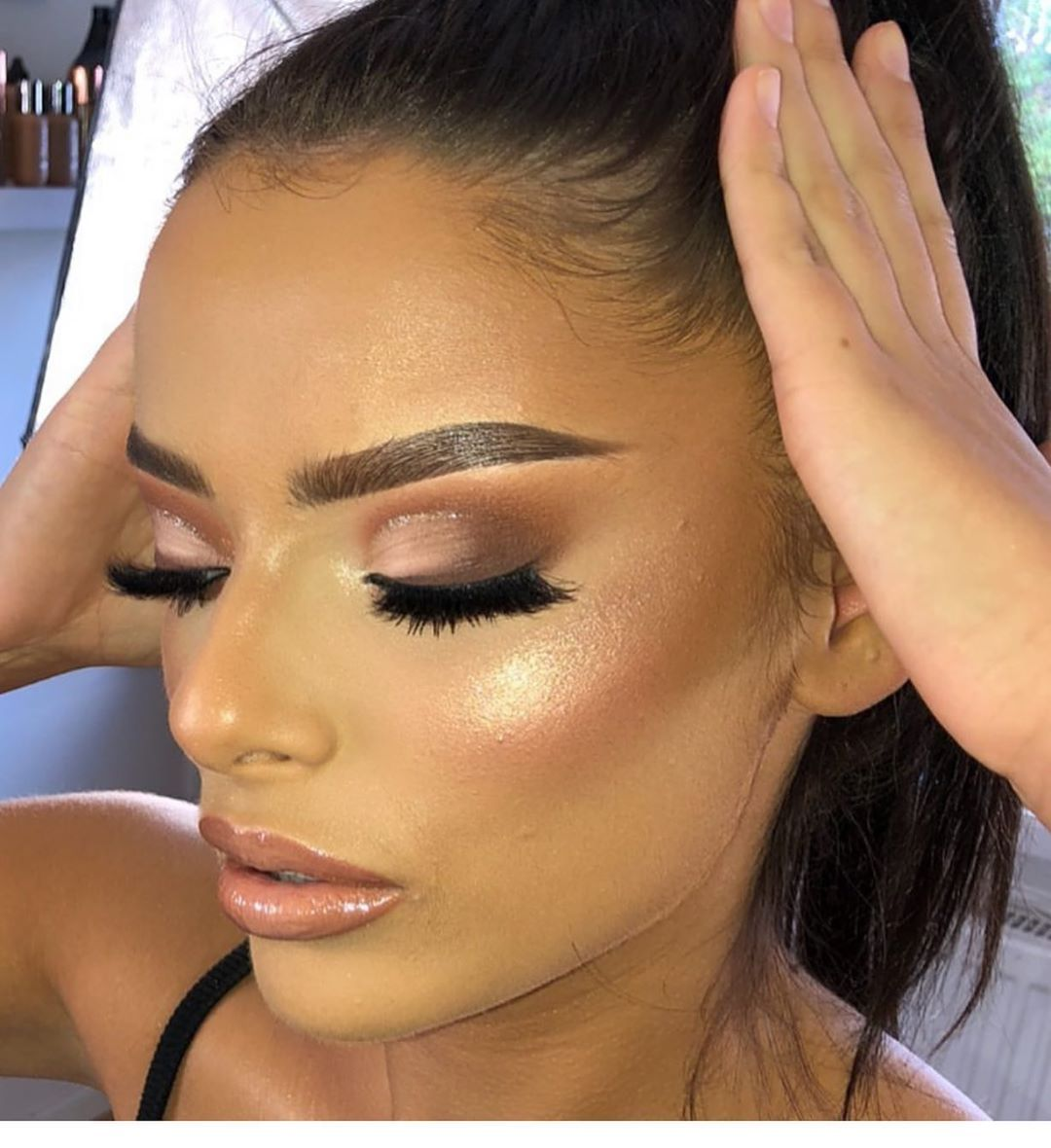 When your makeup artist is this good  check out our hair & makeup offers TOMORROW ONLY !!!