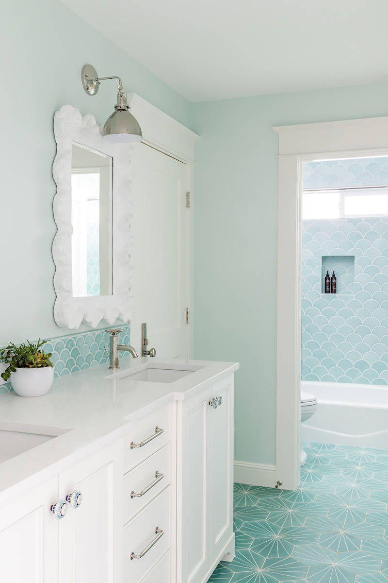 Charla Ray Interior Design | Coastal bathrooms, Coastal and Portland ...