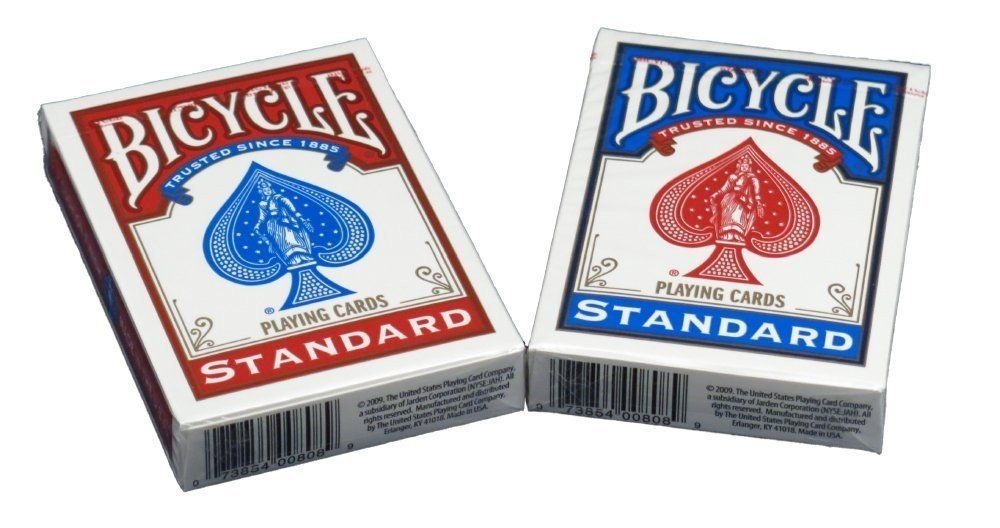 Games Standard Index Bicycle 2-Pack