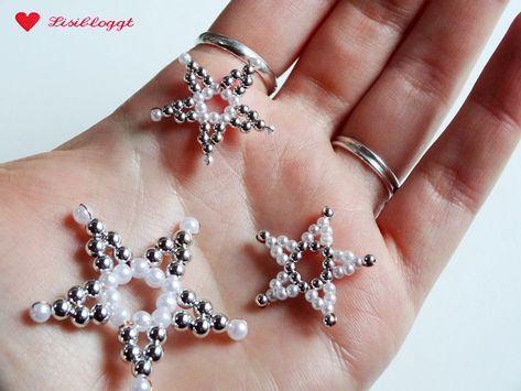 Anleitung: Perlensterne mit Draht basteln #sternebastelnmitkindern