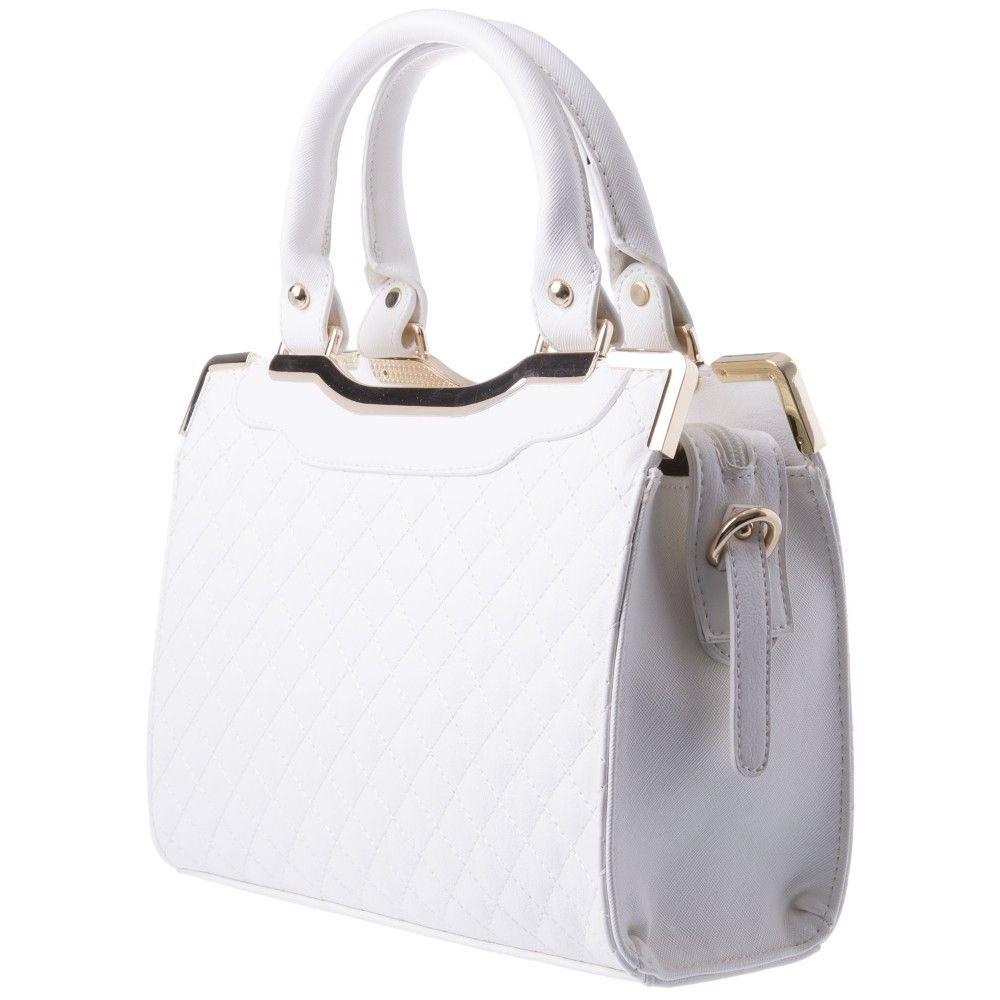 e267970e03 Mini Jemma Quilt Tote in WHITE  32241 - colette by colette hayman ...