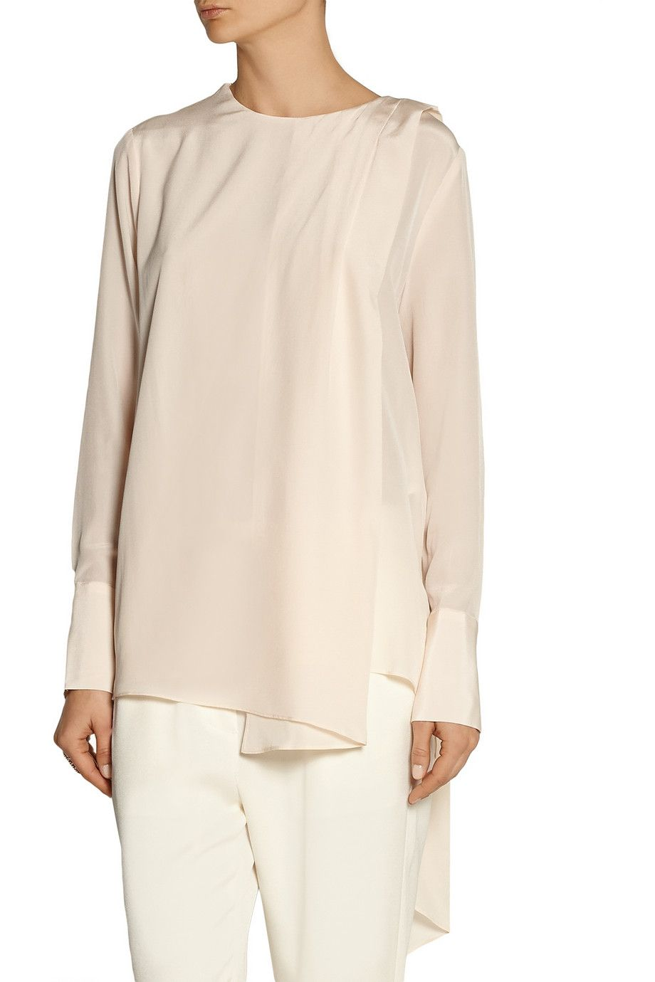 209964b45c Polo Ralph Lauren Silk Charmeuse Shirt - Joe Maloy